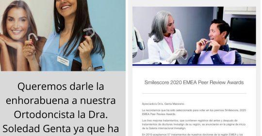 Queremos darle la enhorabuena a nuestra Ortodoncista la Dra. Soledad Genta Maiorano.