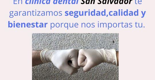 Prevención contra el Covid-19 Clínica dental San Salvador.